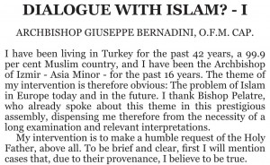 Dialogue with Islam1