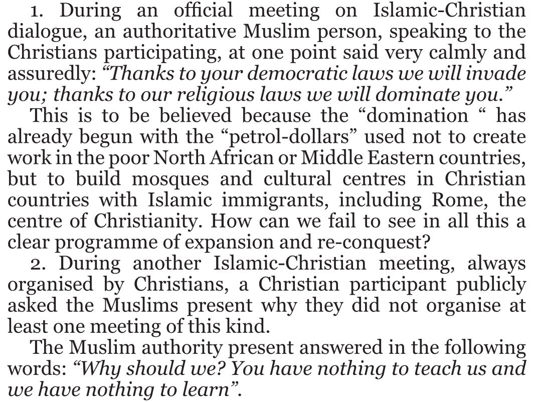Dialogue with Islam2