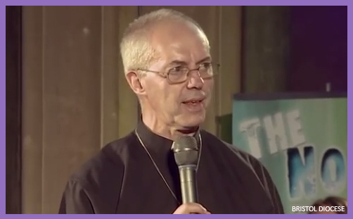 Justin Welby doubt
