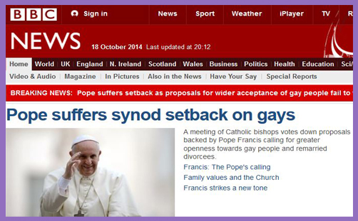 Pope gays welcome defeated2