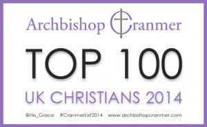 Top 100 UK Christians 2014
