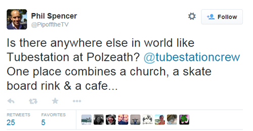 Phil Spencer Tubestation tweet