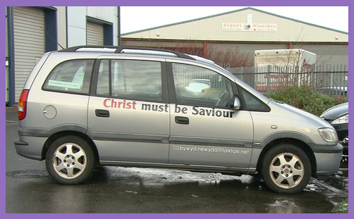 Age UK Christian car sticker2