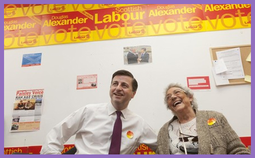 Douglas Alexander Labour Election