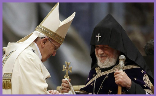 Pope Francis with Karekin II2
