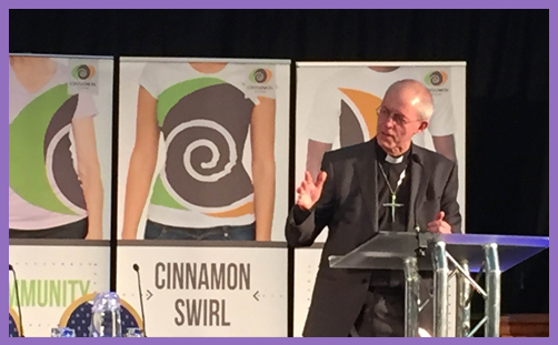 Justin Welby Cinnamon Network