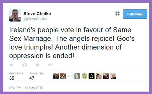 Steve Chalke tweet gay marriage2