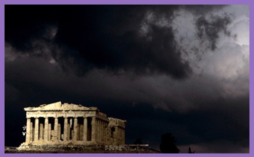 Parthenon clouds 2