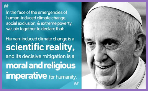 Laudato Si – Pope Francis gives a timely gift to humanity