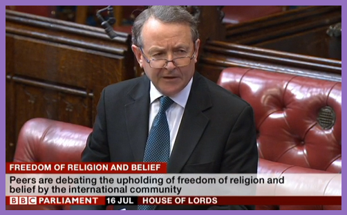 House Lords Freedom Religion