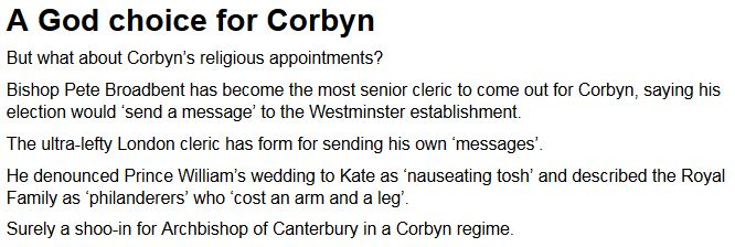 Pete Broadbent - Corbyn Mail