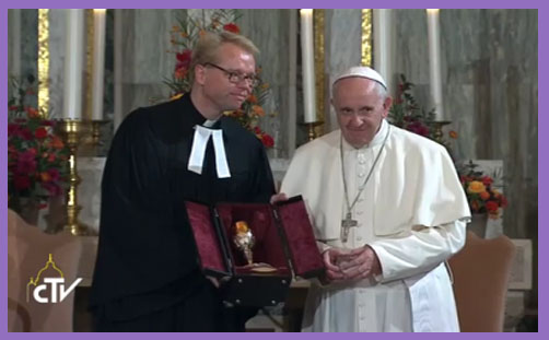 Pope Francis communion Lutherans 2