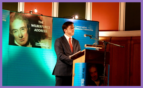 Stephen Crabb Wilberforce address