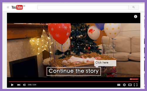 YouTube Christmas Story