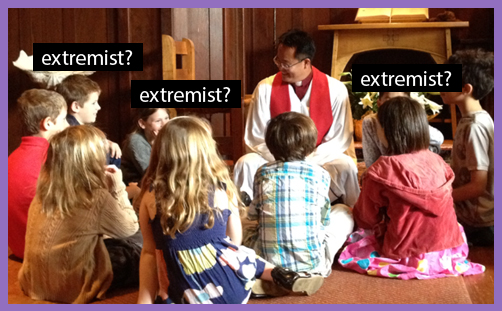Sunday School Extremism