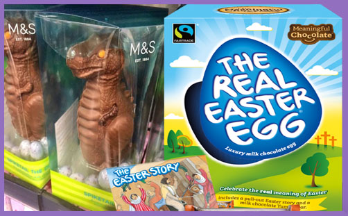 M&S dinosaur Easter egg 2