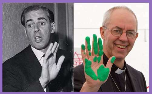 Justin Welby father