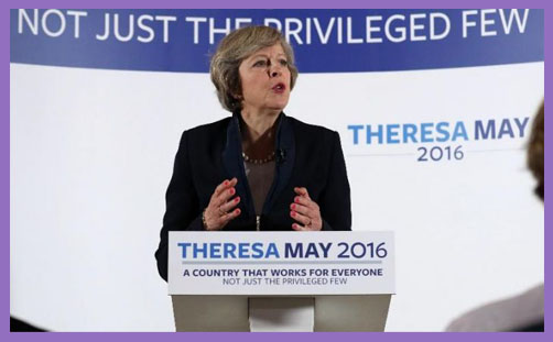 Theresa May - launch 2
