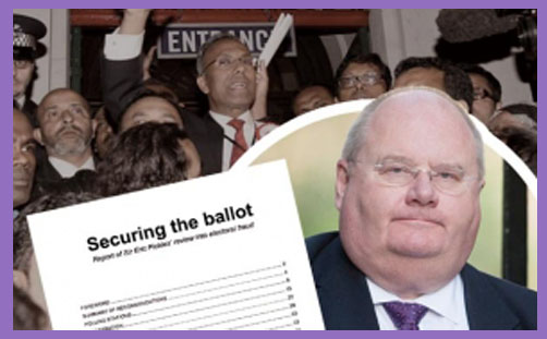 Eric Pickles securing the ballot 2