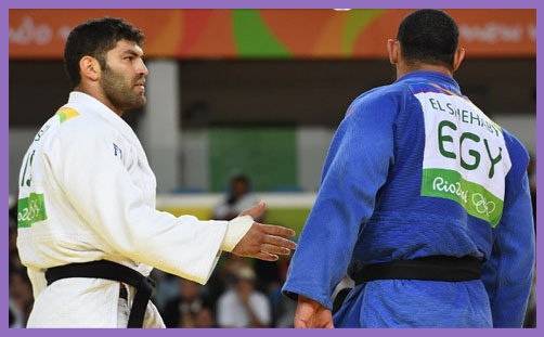 Judo Olympic bigotry