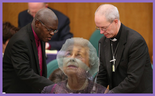 Welby Sentamu Queen