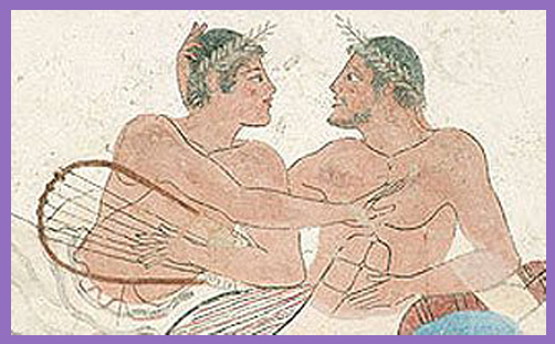Greek men lovers