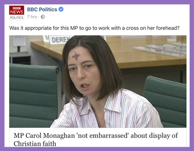BBC MP practising Christian