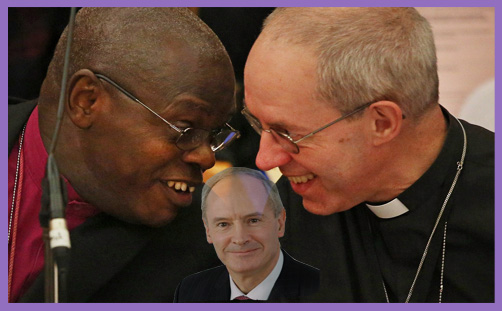 Welby Sentamu Mawer