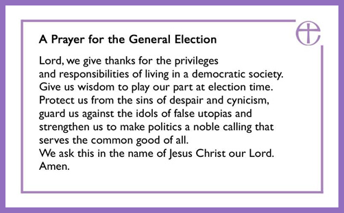 Despair CofE election prayer