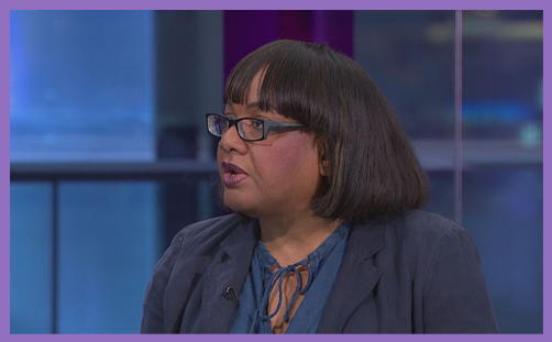Diane Abbott C4 News