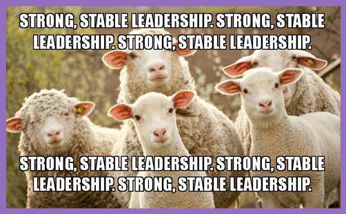 Strong and stable leadership 2