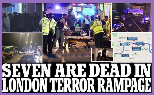 London Bridge attack - for Allah