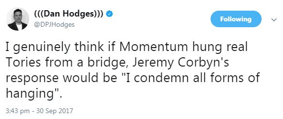 hang the tories - momentum