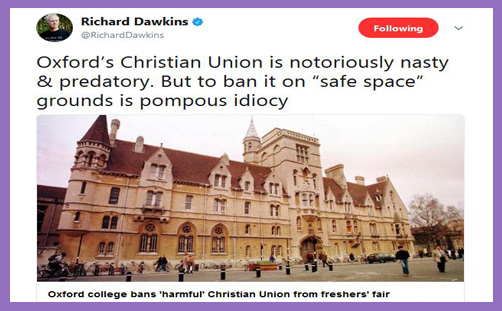 oxford christian union dawkins