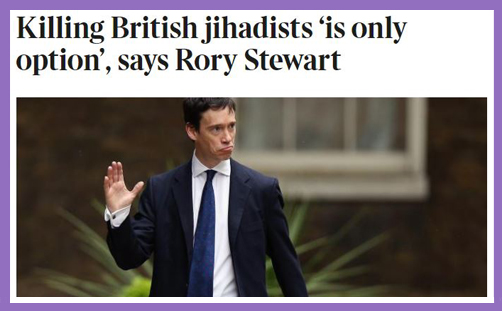 rory stewart kill british jihadists