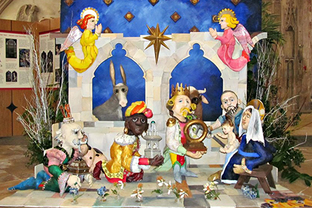 gloucester cathedral crib