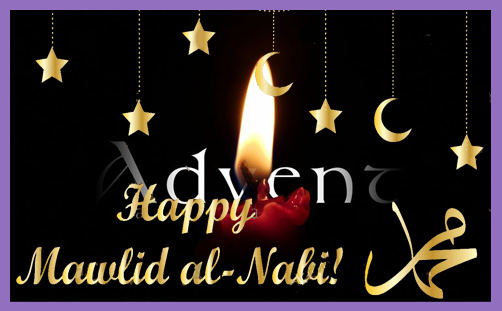 mawlid advent mohammed birthday jesus