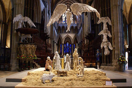 salisbury cathedral crib