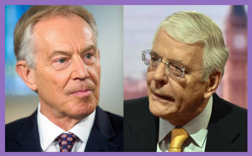 tony blair john major
