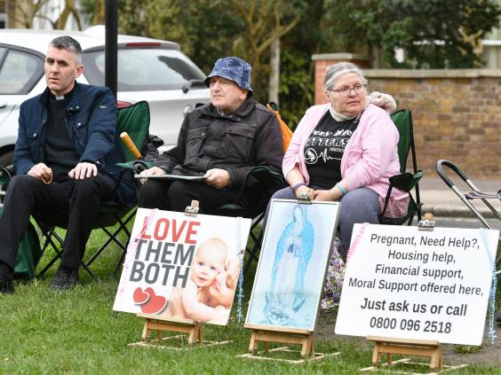 ealing abortion clinic safe zone