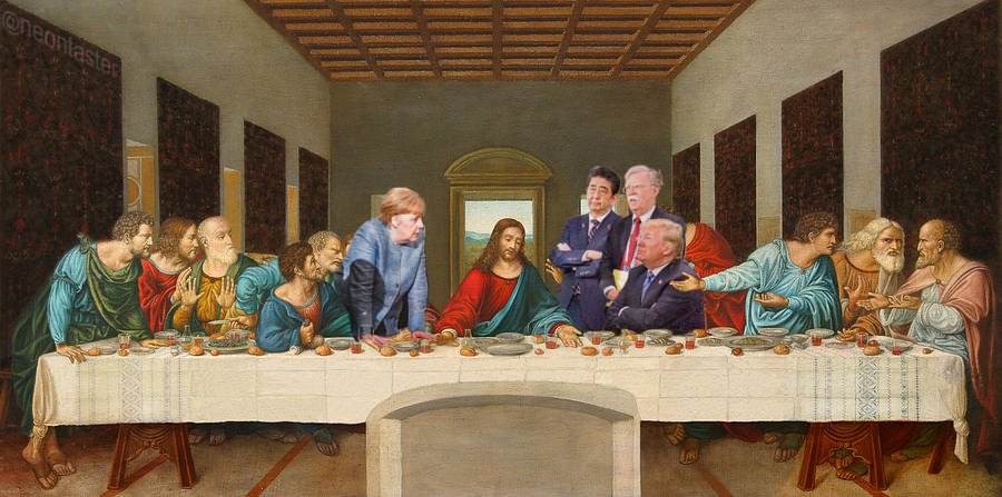 Trump g7 last supper