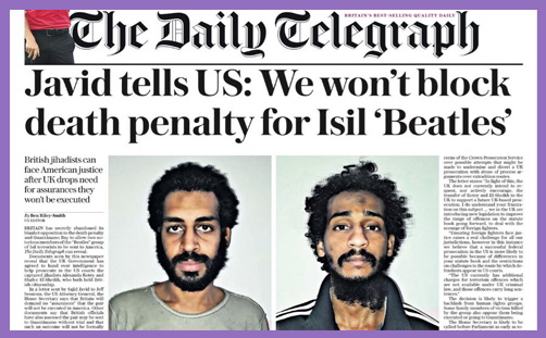 Death Penalty Beatles ISIL