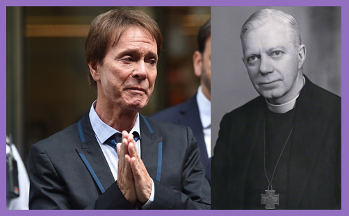 Sir Cliff Richard Bishop George Bell