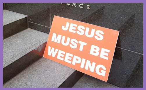 jesus weeping sex abuse