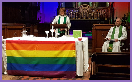 Rainbow Church LGBT Eucharist