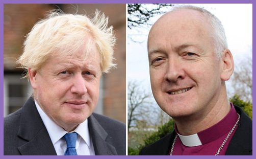 Boris Johnson Bishop Leeds Nick Baines