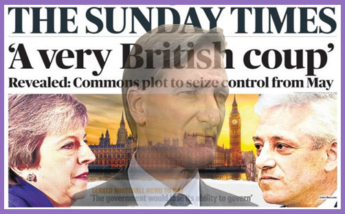 Times Grieve Bercow British coup