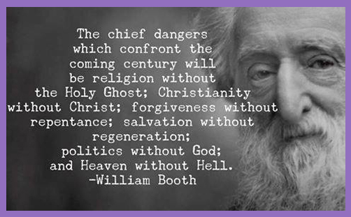 religion without holy spirit william booth