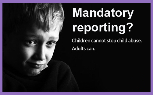 mandatory reporting child abuse