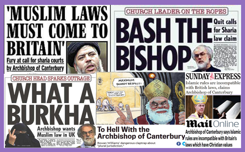 rowan williams justin welby sharia law